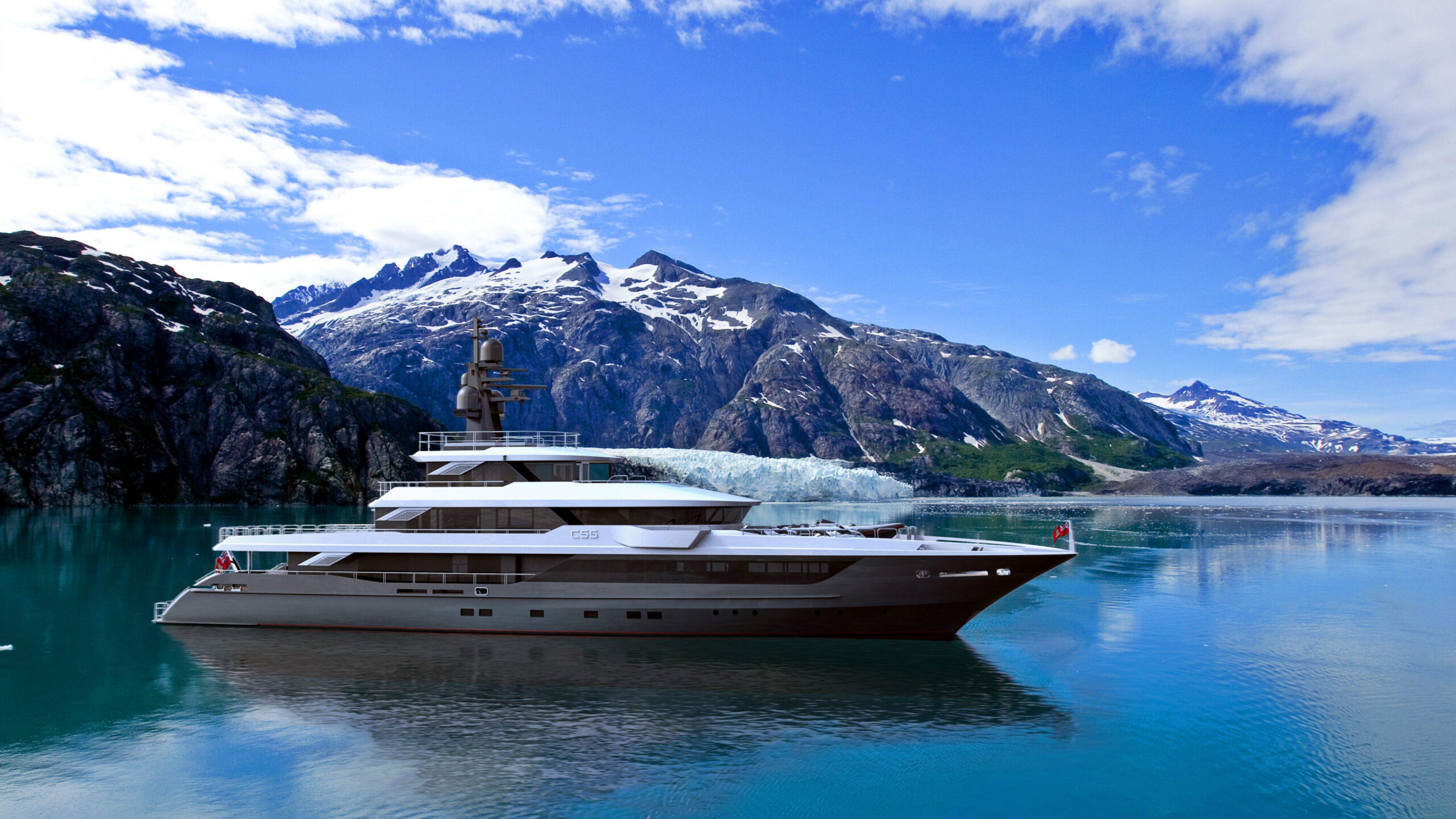 C55 NW Glacier Profile sv
